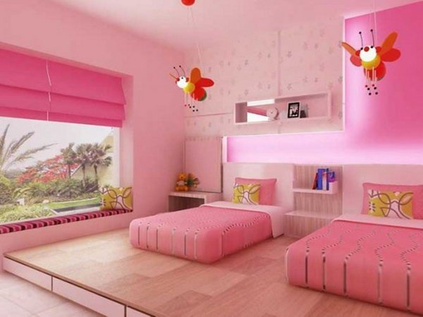 Decor Ideas for Girl Bedroom Beautiful 40 Cute and Interestingtwin Bedroom Ideas for Girls Hative