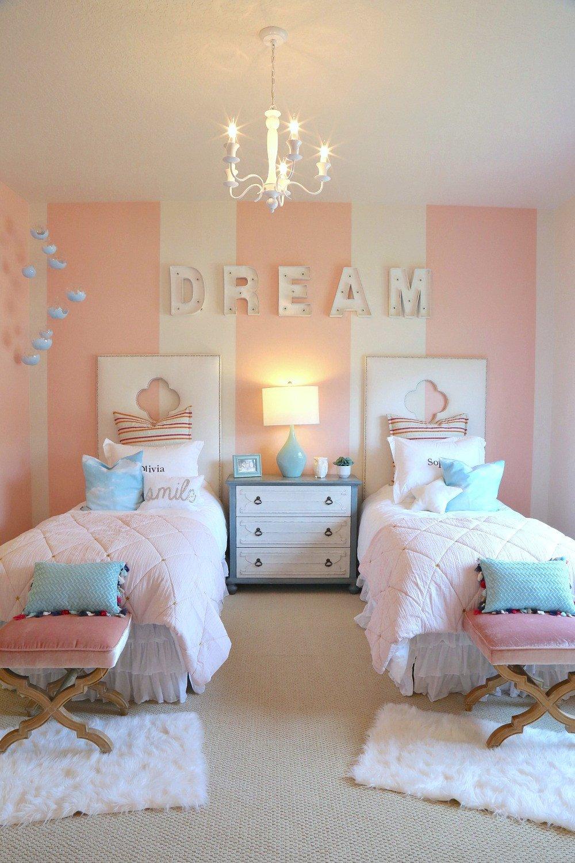 Decor Ideas for Girl Bedroom Elegant Creative Kids Bedroom Decorating Ideas