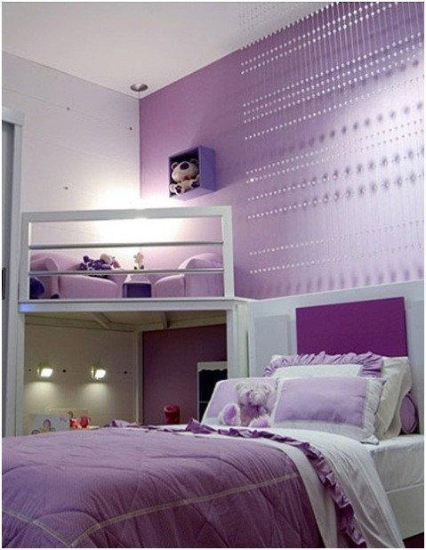 Decor Ideas for Girl Bedroom Inspirational Girls Purple Bedroom Decorating Ideas Interior Design