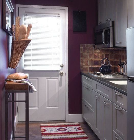 Decor Ideas for Kitchen Walls Lovely Purple Kitchen — 14 Creative Ways to Decorate A Kitchen with Purple — Eatwell101