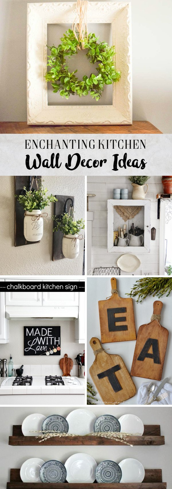 Decor Ideas for Kitchen Walls Luxury 30 Enchanting Kitchen Wall Decor Ideas that are Oozing with Style