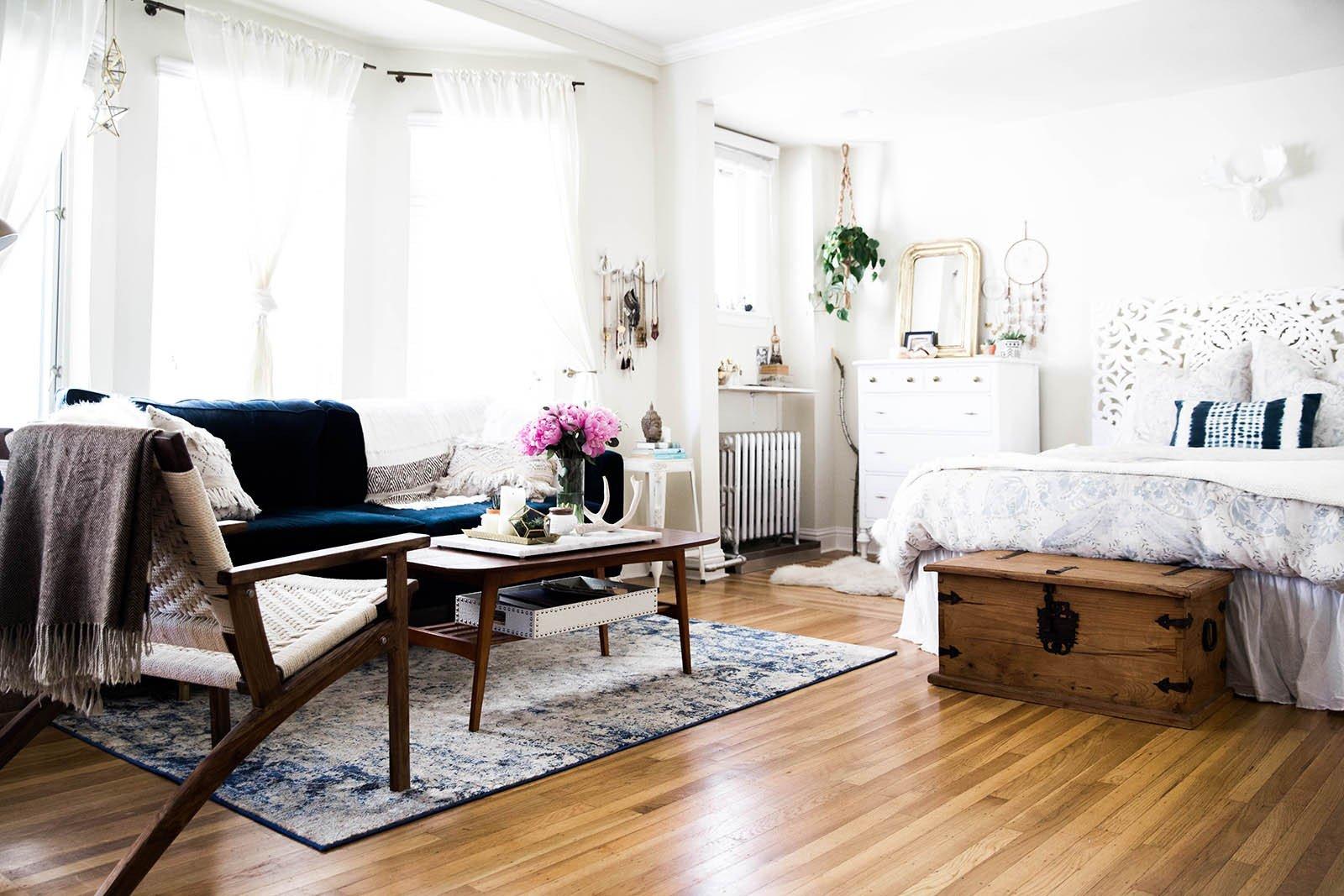 Decor Ideas for Studio Apartments Elegant A tour Of My San Francisco Studio Apartment