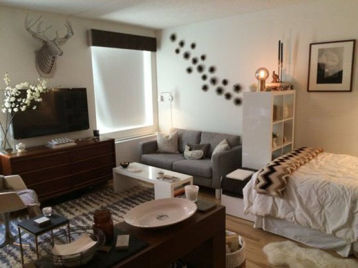 Decor Ideas for Studio Apartments New 15 Stylish Small Studio Apartments Decorations that You Will Love