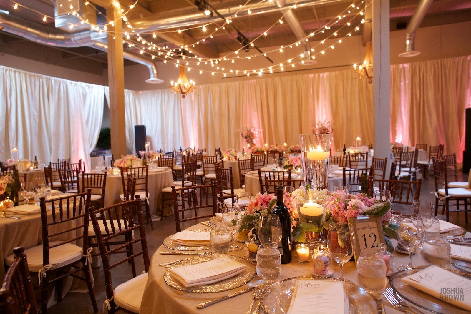 Decor Ideas for Wedding Reception Awesome Flora Nova Design the Blog A Romantic Vintage Wedding at the Foundry