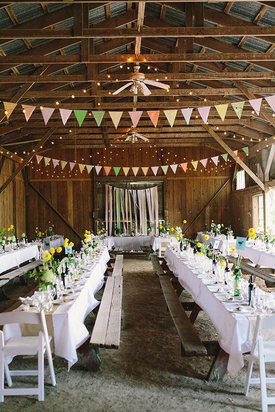 Decor Ideas for Wedding Reception Fresh 30 Barn Wedding Reception Table Decoration Ideas