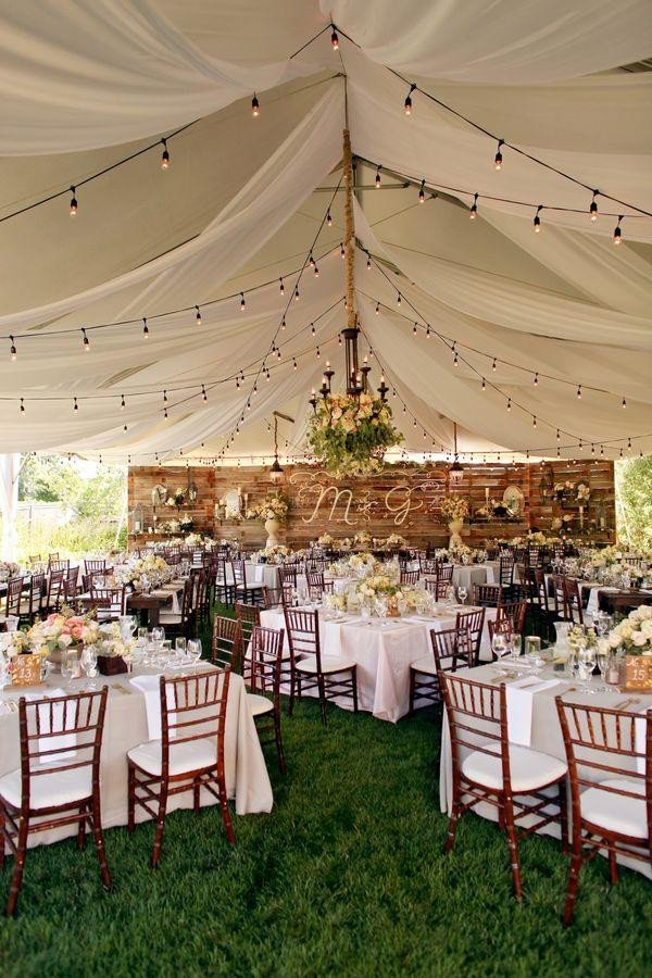Decor Ideas for Wedding Reception New 35 Rustic Backyard Wedding Decoration Ideas