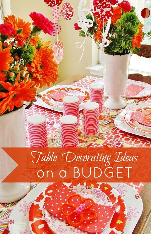 Decor Ideas On A Budget Awesome Decorating A Summer Table On A Bud Thistlewood Farm Beneath My Heart