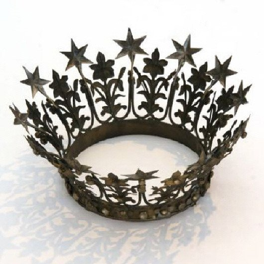 Decorative Crowns for Home Decor Best Of Metal Crown Eclectic Home Decor by Rian Rae