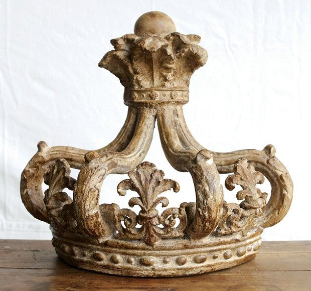 Decorative Crowns for Home Decor Elegant Beautiful French Crown Wall Decor