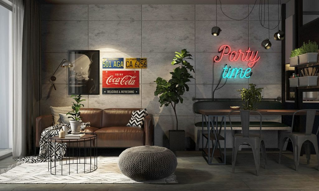 Different Styles Of Home Decor Inspirational Four Types Of Industrial Style Decor