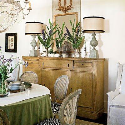 Dining Room Buffet Decor Ideas Elegant Decorating the Sideboard Ruby Lane Blog
