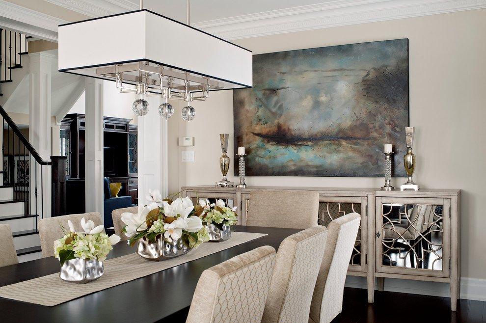 Dining Room Buffet Decor Ideas Elegant Elegant Dining Room Sideboard Decorating Ideas