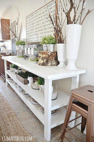 Dining Room Buffet Decor Ideas Elegant Pretty Spring Decorating Ideas Satori Design for Living