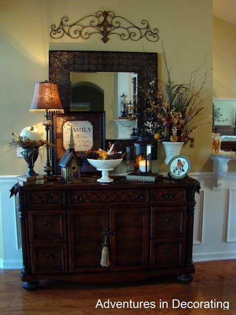 Dining Room Buffet Decor Ideas Fresh Metal Piece Above Mirror Over Buffet Love This for the formal Dining Room