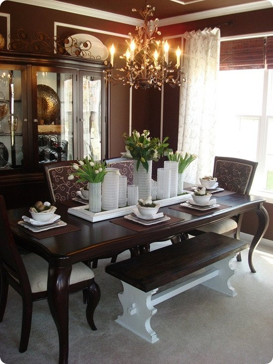 Dining Room Table Decor Ideas New 61 Stylish and Inspirig Spring Table Decoration Ideas Digsdigs