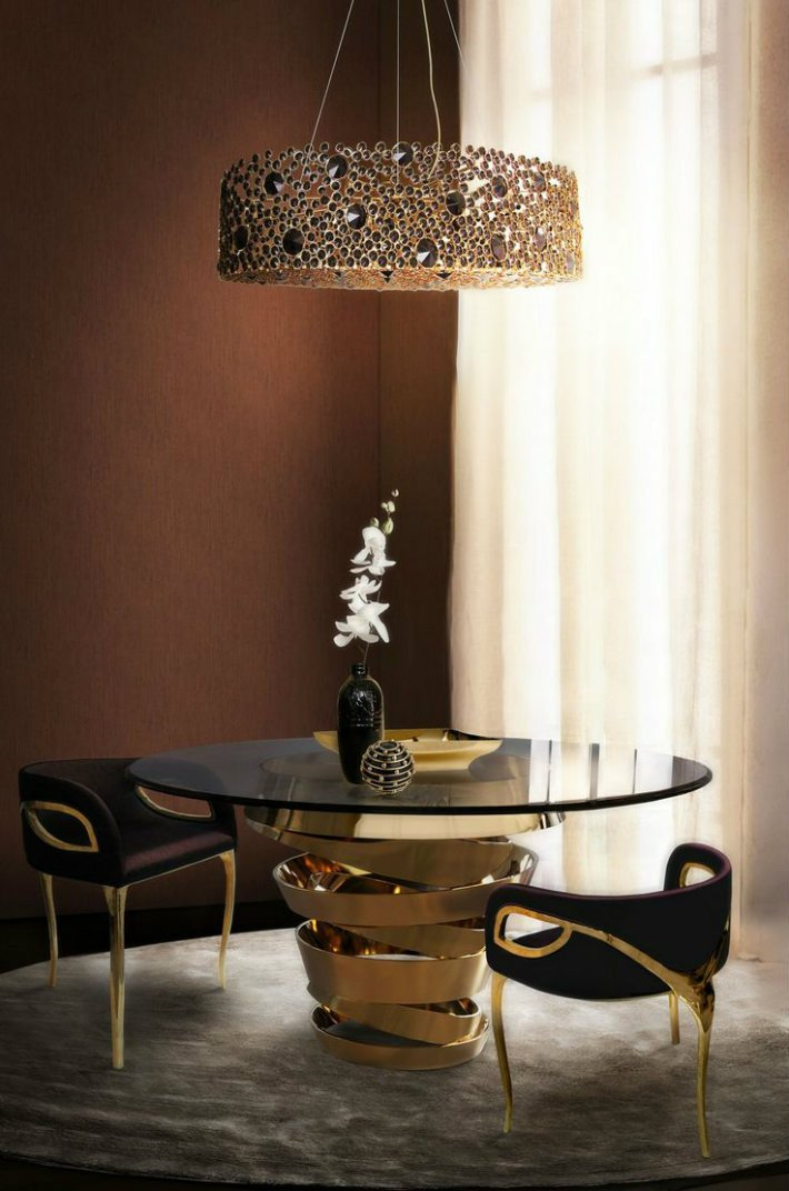 Dining Room Table top Decor New the Most Elegant Round Dining Table Decor Ideas