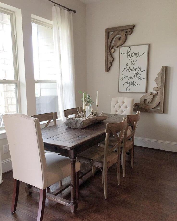 Dining Room Wall Decor Ideas Elegant 37 Best Farmhouse Dining Room Design and Decor Ideas for 2019