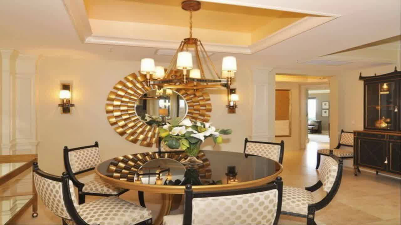 Dining Room Wall Decor Pictures Awesome Dining Room Wall Decor Ideas with Mirror