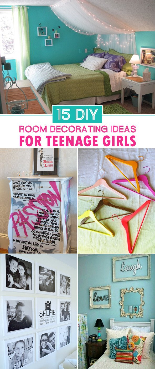 Diy Bedroom Decor for Teens Inspirational 15 Diy Room Decorating Ideas for Teenage Girls