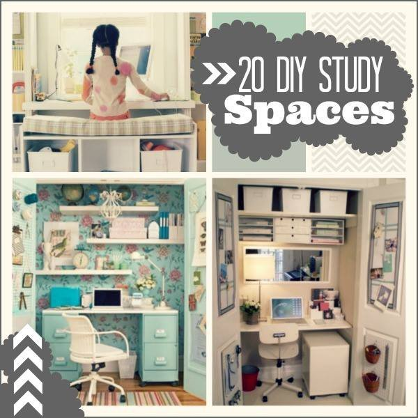 Diy Bedroom Decor It Yourself Beautiful 20 Do It Yourself Study Spaces Home Stories A to Z