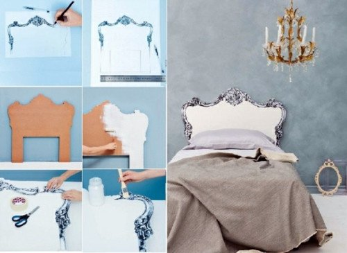 Diy Bedroom Decor It Yourself New Creative Decorating Ideas In the Bedroom – Chic Headboard Do It Yourself