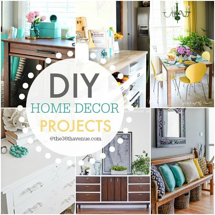 Diy Craft for Home Decor Best Of Diy Home Decor Projects and Ideas the 36th Avenue