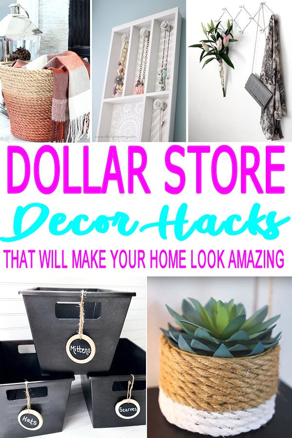 Diy Craft for Home Decor Luxury Diy Dollar Store Hacks