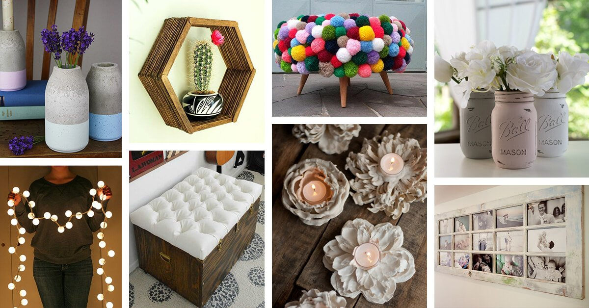 Diy Crafts for Home Decor Best Of 35 Best Weekend Diy Home Decor Projects Ideas and Designs for 2019
