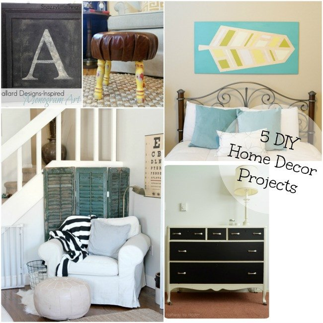 Diy Crafts for Home Decor Elegant 5 Diy Home Decor Projects and the Project Stash