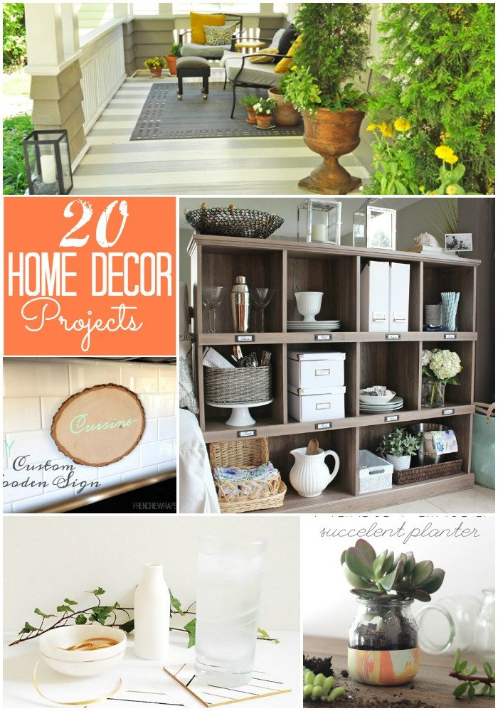 Diy Crafts for Home Decor Inspirational Great Ideas 20 Diy Home Decor Projects