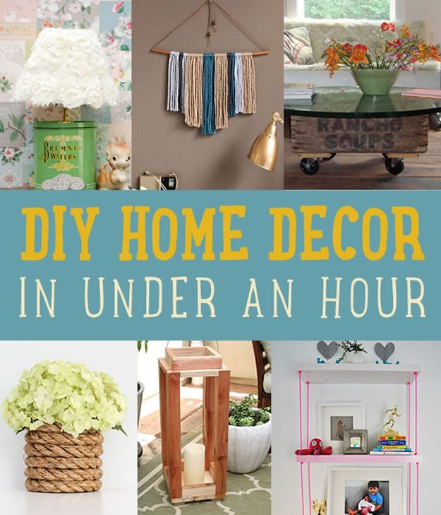 Diy Crafts for Home Decor New Quick Home Decor Project Ideas Diy Projects Craft Ideas & How to's for Home Decor with Videos