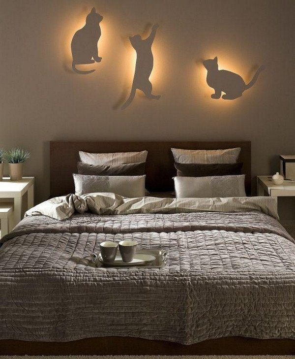 Diy Decor Ideas for Bedroom Fresh Diy Bedroom Lighting and Decor Idea for Cat Lovers