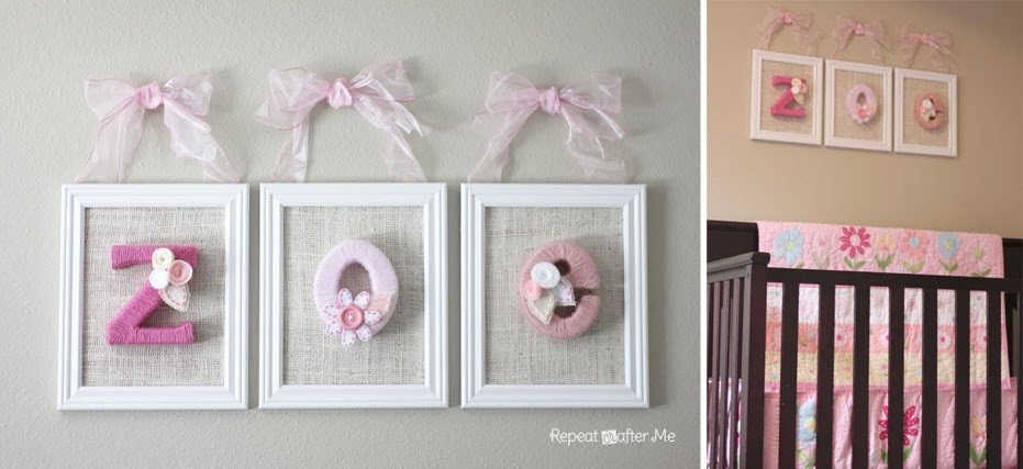 Diy Little Girl Room Decor Awesome Baby Girl Nursery Diy Decorating Ideas Repeat Crafter Me