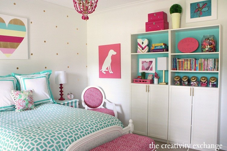 Diy Little Girl Room Decor Elegant Little Girl S Room Revamped to Bright and Bold Tween Room