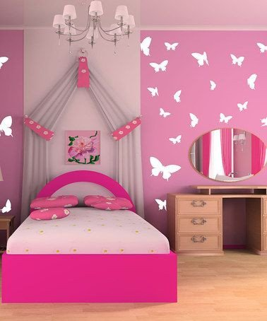 Diy Little Girl Room Decor Inspirational Take A Look at This White butterfly Moments Wall Decal by Sissy Little On Zulily today