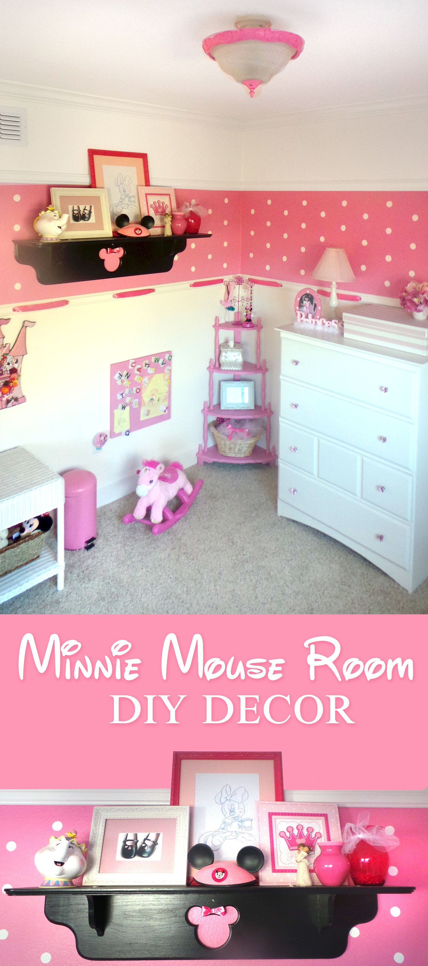 Diy Little Girl Room Decor Unique Minnie Mouse Room Diy Decor Highlights Along the Way