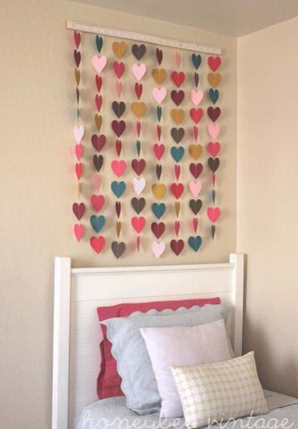 Diy Little Girls Room Decor Best Of top 28 Most Adorable Diy Wall Art Projects for Kids Room