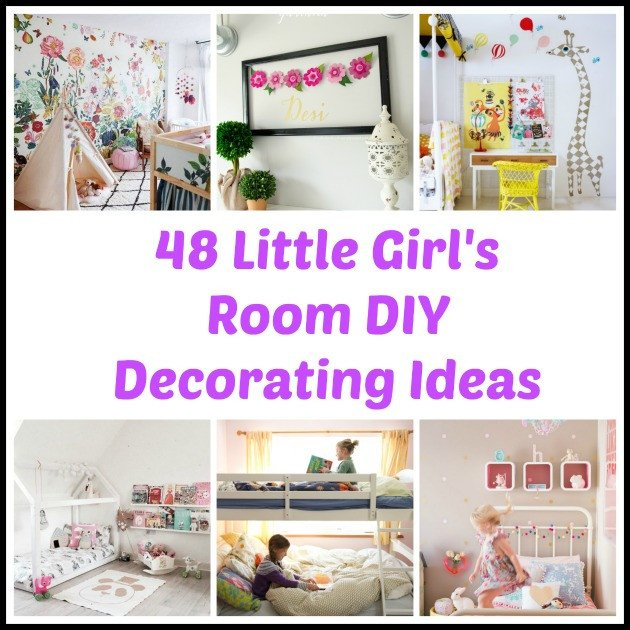 Diy Little Girls Room Decor Luxury 48 Diy Decorating Ideas for A Little Girl S Room