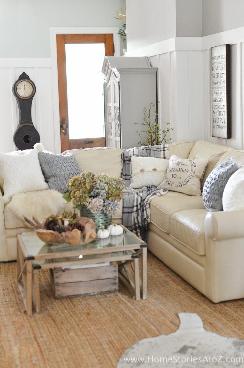 Diy Living Room Decor Ideas Awesome Diy Home Decor Fall Home tour