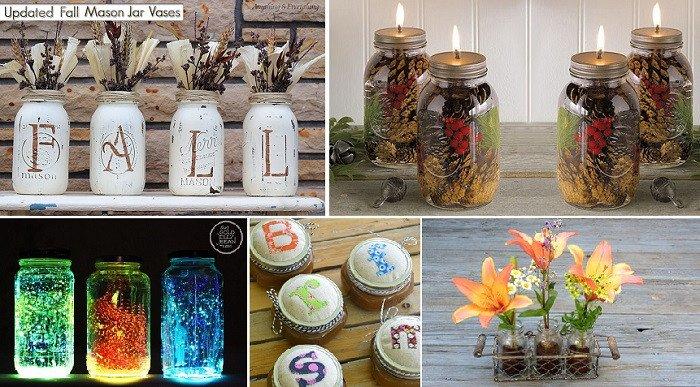 Diy Mason Jars Decor Ideas Awesome Diy 101 Mason Jar Decor Ideas