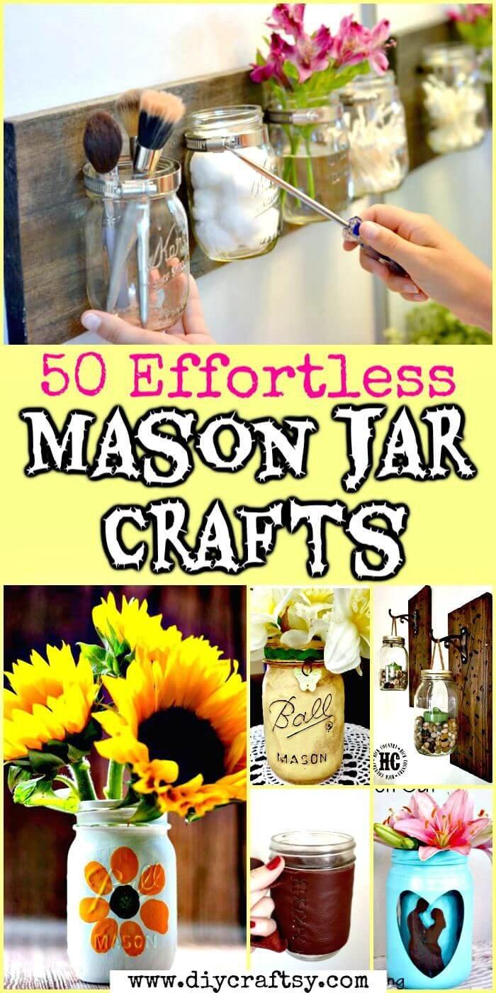 Diy Mason Jars Decor Ideas Best Of 50 Unique Diy Mason Jar Crafts for Fall Decor ⋆ Diy Crafts