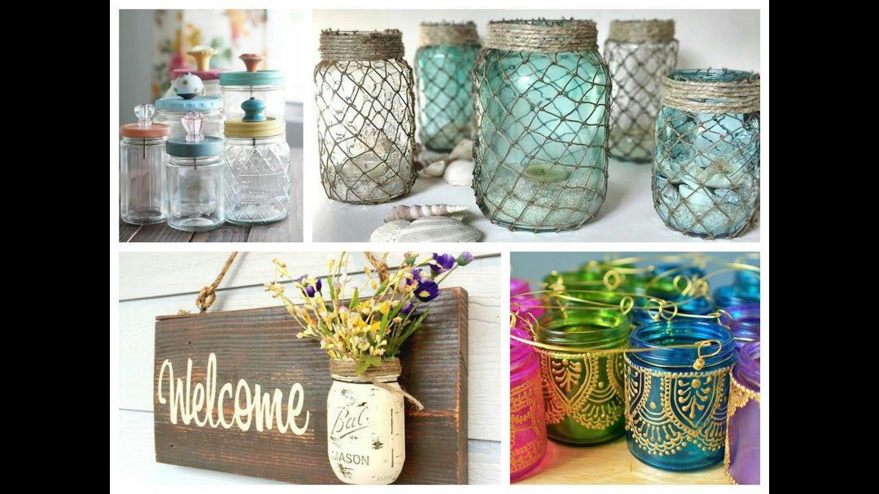 Diy Mason Jars Decor Ideas Fresh Mason Jar Crafts Inspiration Diy Room Decoration Ideas Upcycled Jars Projects