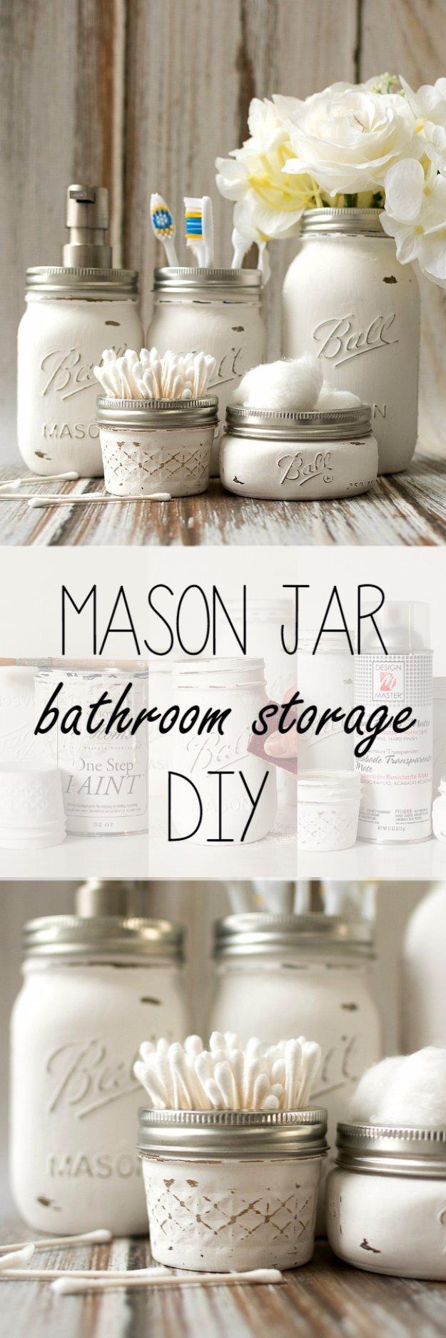 Diy Mason Jars Decor Ideas Inspirational 31 Brilliant Diy Decor Ideas for Your Bathroom