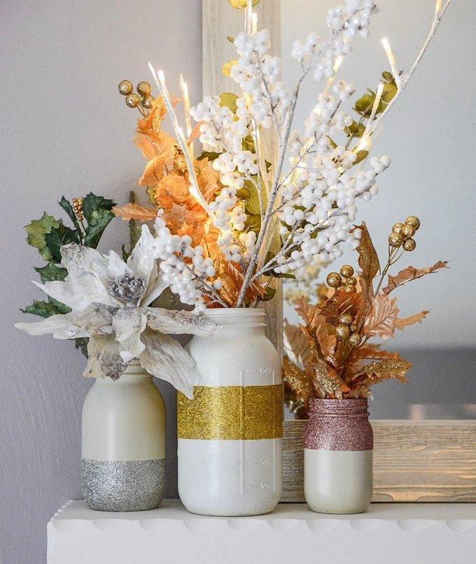 Diy Mason Jars Decor Ideas Inspirational Create Impressive Corners In Your Home with these Diy Ideas