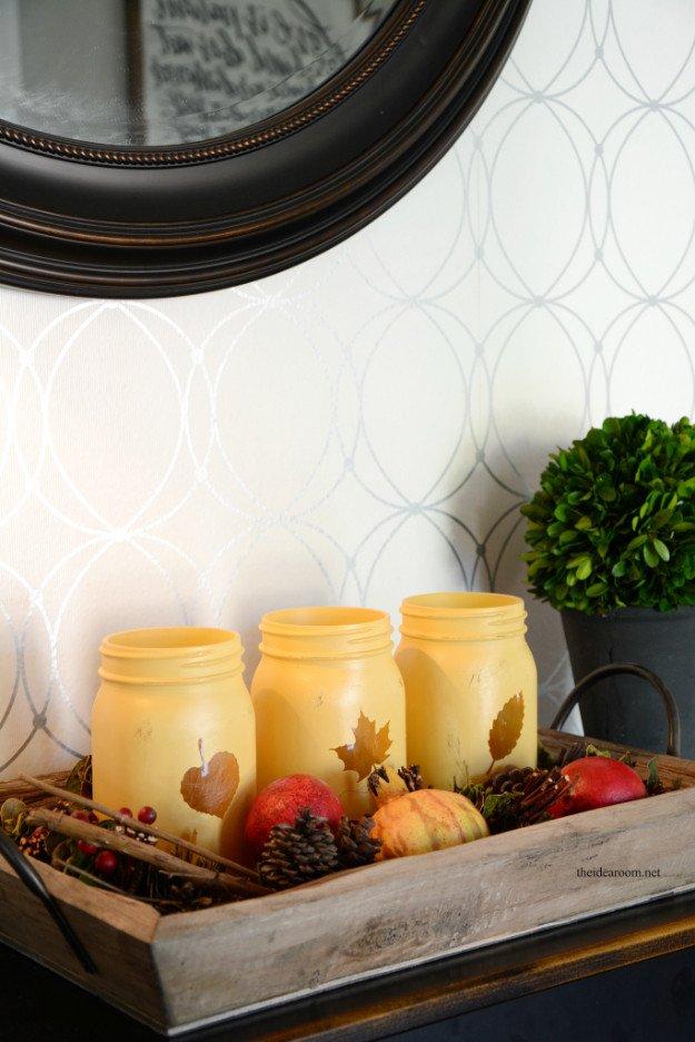 Diy Mason Jars Decor Ideas New 33 Mason Jar Crafts for Fall