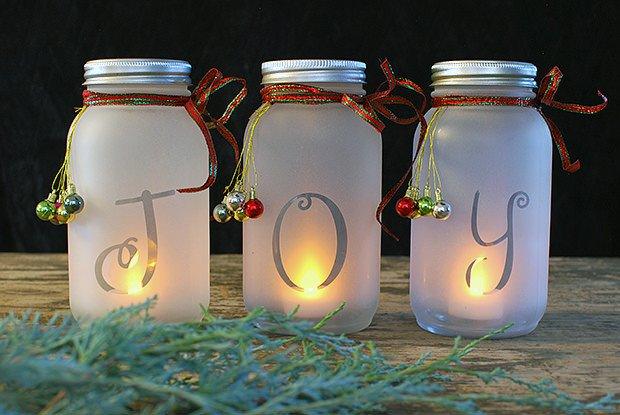 Diy Mason Jars Decor Ideas New Diy Mason Jar Holiday Luminaria • the Bud Decorator