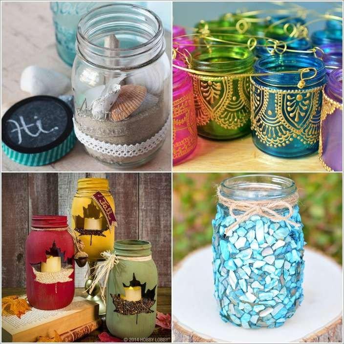 Diy Mason Jars Decor Ideas Unique 10 Awesome Diy Mason Jar Decor Ideas
