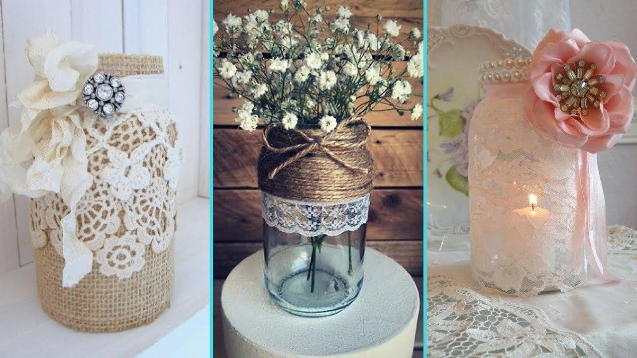 Diy Mason Jars Decor Ideas Unique Diy Rustic Shabby Chic Style Mason Jar Decor Ideas Home Decor & Interior Design