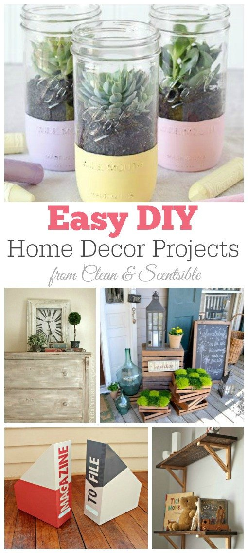 Diy Projects for Home Decor Best Of Friday Favorites Diy Home Decor Projects Clean and Scentsible