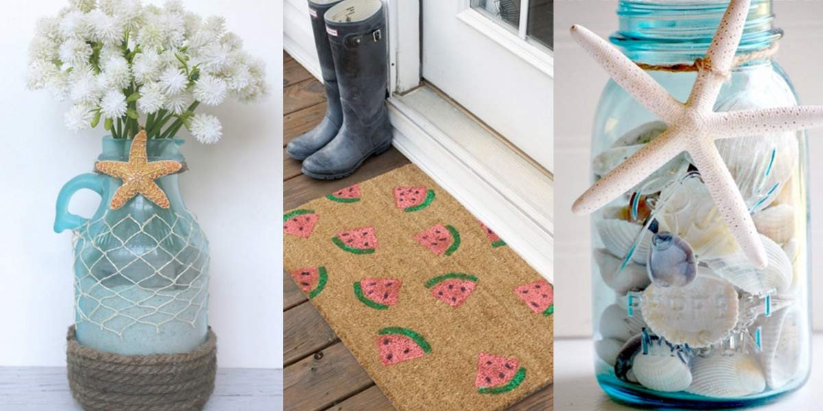 Diy Projects for Home Decor Elegant 40 Home Decor Diy Projects for Summer